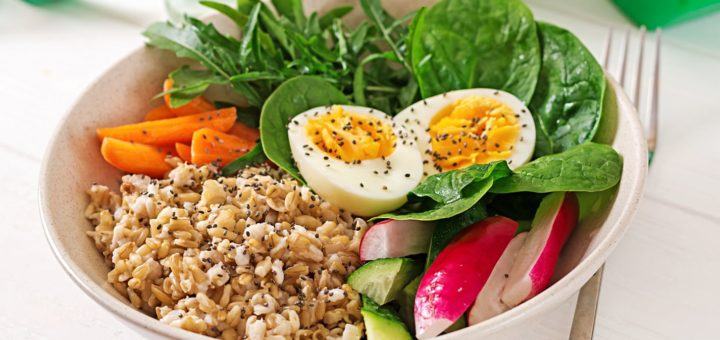 Alimentação balanceada auxilia no ganho de massa magra