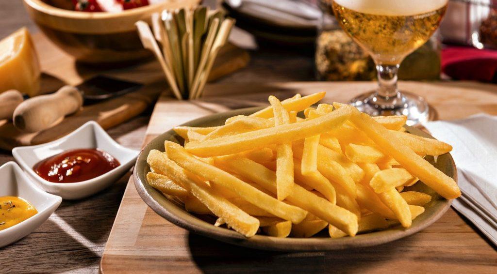 Batata frita é garantia de momentos de prazer e de alegria