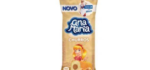 Ana Maria inova mais uma vez e lança bolinho sabor Churros feito com Leite Moça