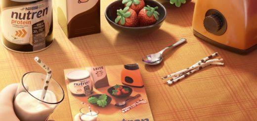 """Sugestões fáceis de receitas desenvolvida por nutricionistas com suplemento para incrementar a sua alimentação Está sem ideia do que fazer no lanche da tarde? Que tal uma opção de smoothie proteico, saudável e prático? Essa e outras 9 receitas estão disponíveis no livro de Nutren Protein - Receitas para Foco e Disposição. São dez no total, entre elas, panqueca e cappuccino, disponibilizadas agora em formato de livro com ilustrações para te ajudar a ter uma nutrição ainda mais reforçada. Os livros terão uma tiragem de 4 mil exemplares, que serão distribuídos para nutricionistas e nutrólogos de todo o Brasil, que poderão incrementar os cardápios e planos alimentares de seus pacientes com sugestões de receitas para mais foco e disposição. Os consumidores da marca também terão acesso às receitas no formato de e-book, que poderá ser baixado no site de Nutren® Protein, disponível a partir de outubro no site da marca. """"O principal intuito do livro é oferecer uma ferramenta facilitadora aos profissionais de saúde, nutricionistas e nutrólogos, para que possam incluir estas receitas na rotina dos seus pacientes, de um modo mais versátil. Assim, poupa o trabalho de criar receitas, pois Nutren® Protein disponibiliza essas sugestões prontas, validadas e desenvolvidas por Receitas Nestlé"""", afirma a responsável da marca, Thalita Araújo. """"Oferecer um cardápio variado e com diversas possibilidades é fundamental na hora de prescrever um plano alimentar ao paciente, principalmente se for a longo prazo. Mais importante ainda, é ter opções saborosas, práticas e cheias de nutrientes. Este livro de receita com certeza vem ao encontro a esta necessidade, trazendo um produto que já uso, prescrevo e que meus pacientes amam não só pelo sabor delicioso, mas pelos resultados relacionados ao foco e aumento da disposição. Eu mesma estou ansiosa para testar todas as receitas."""" Priscila Munhoz Sabará, Nutricionista Nutren® Protein é um combo diário com Whey Protein, Cafeína, 20 vitaminas e minerais"""