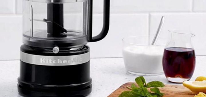 5 motivos para ter um processador de alimentos KitchenAid na sua cozinha